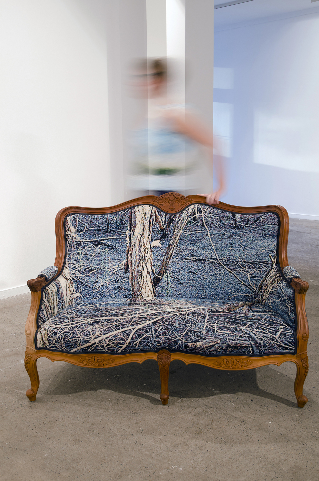 Deb Mansfield, The Armchair Traveller (installation shot MOP Gallery, Sydney), 2013