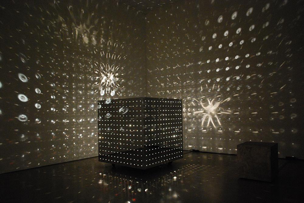 Otto Piene, Lichtraum, Deutsche Bank KunstHalle, 2014.
