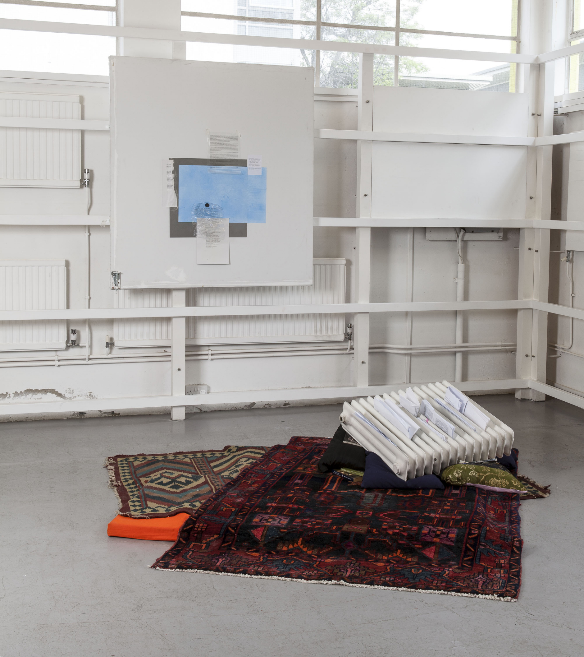 Commissioned by The Showroom for How to work together: a shared project with Chisenhale Gallery and Studio Voltaire. Photo Daniel Brooke. Courtesy the artist and The Showroom, London.