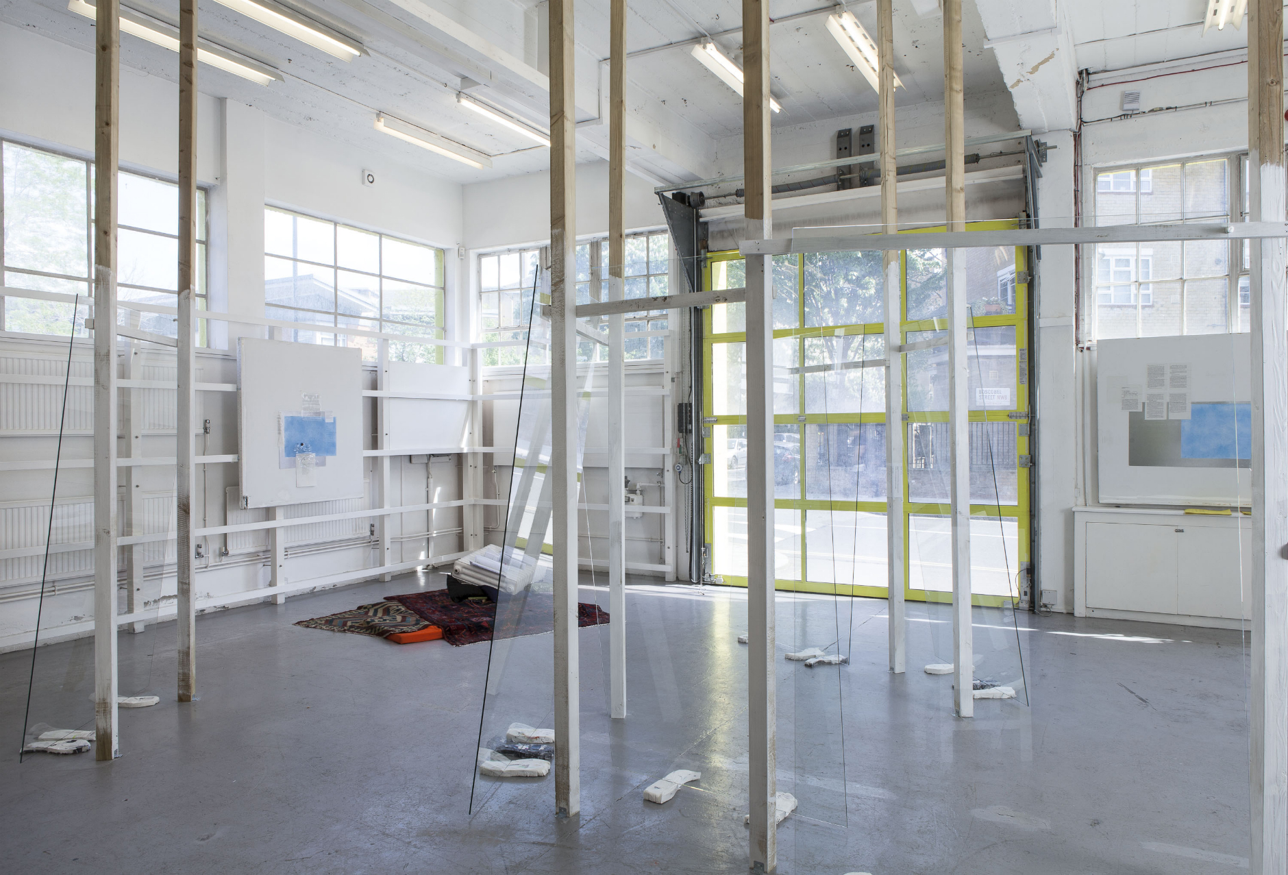 Commissioned by The Showroom for How to work together: a shared project with Chisenhale Gallery and Studio Voltaire. Photo Daniel Brooke. Courtesy the artist and The Showroom, London