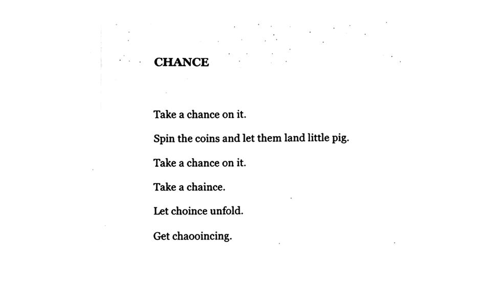 Matthew Hopkins, Chance, 2014