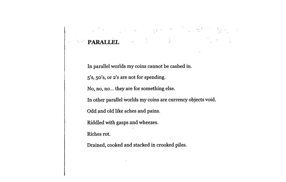 Matthew Hopkins, Parallel, 2014