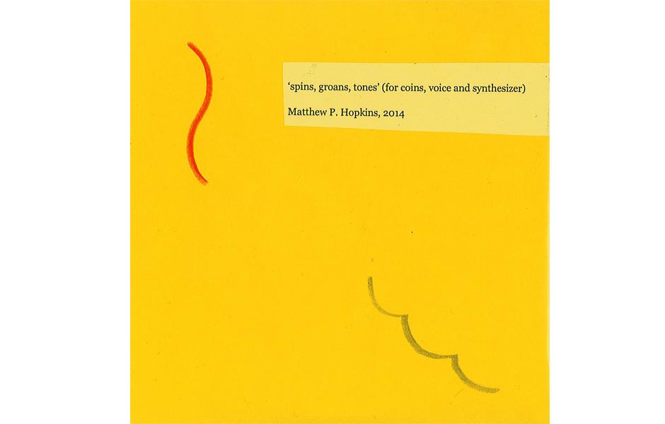 Matthew Hopkins, Economic Frown (CD cover), 2014