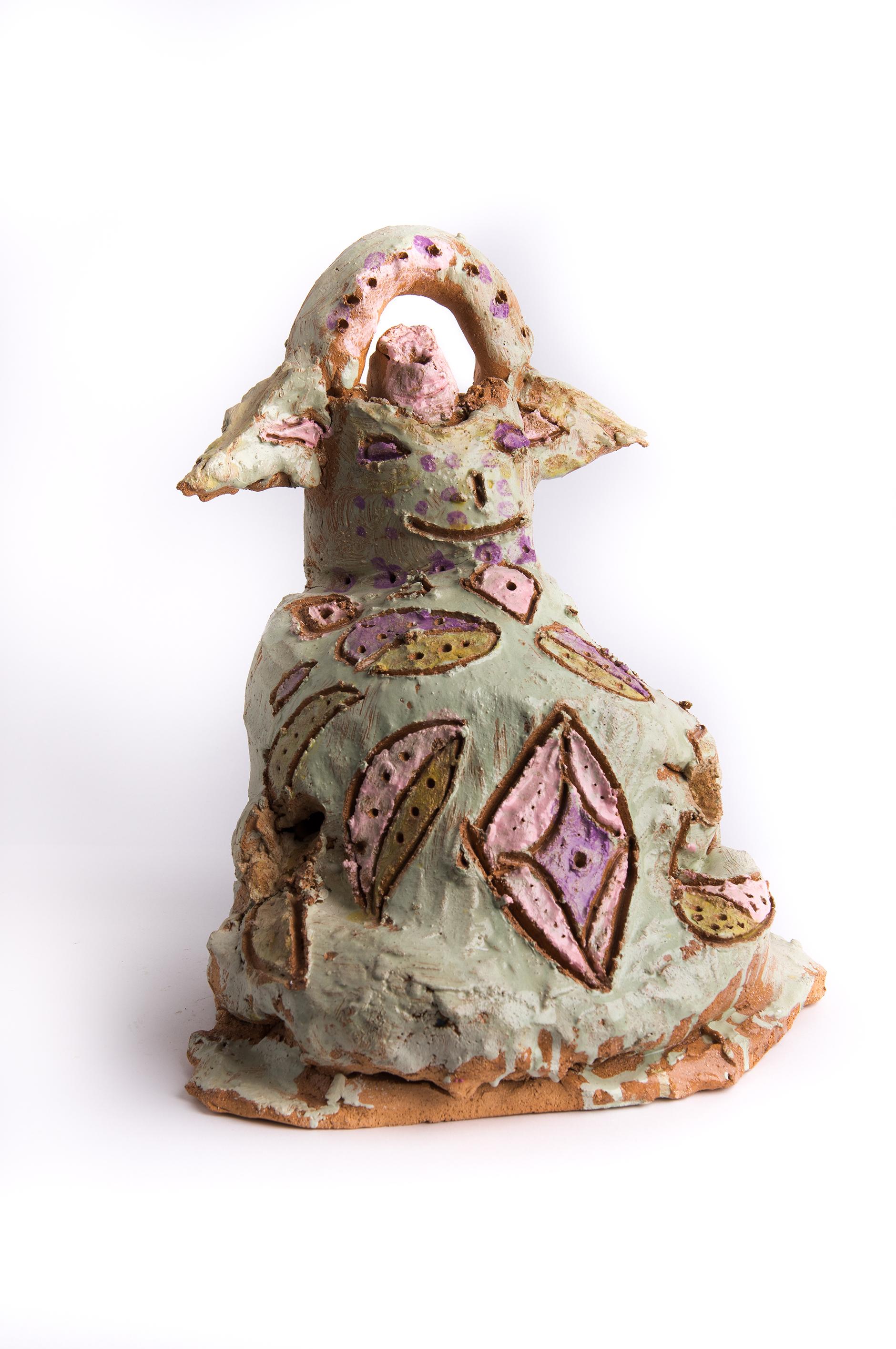 1. Kevin Meagher Jabba Yoda 2011 Ceramic 42 x 40cm