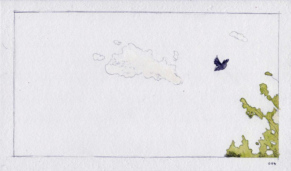 Feeding A Bird: Scene 4