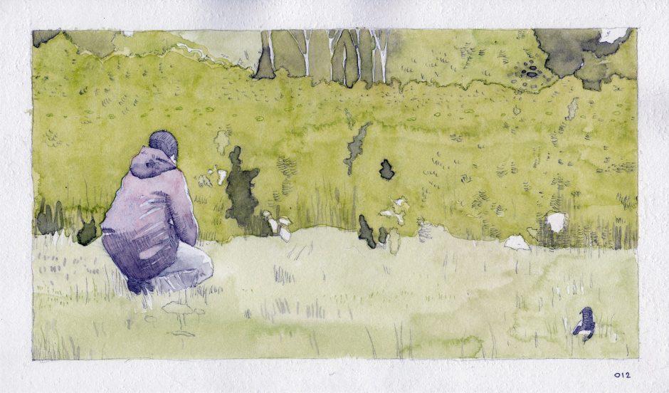 Feeding A Bird: Scene 12