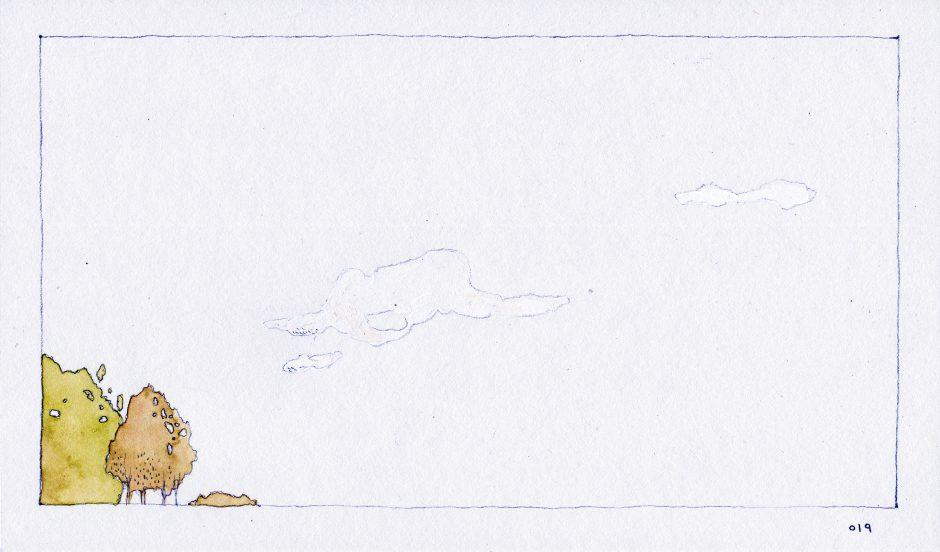Feeding A Bird: Scene 19